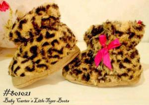 Prewalker tiger boots uk 3-6, 6-9, 9-12 bln